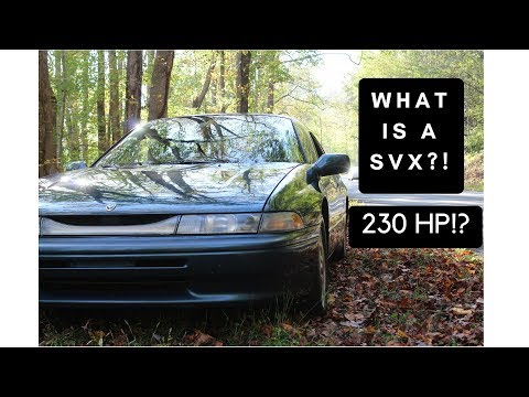 What even is a Subaru SVX?!