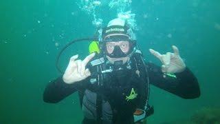 Тарханкут, погружение с аквалангом на 16 метров(, 2016-05-02T19:45:10.000Z)