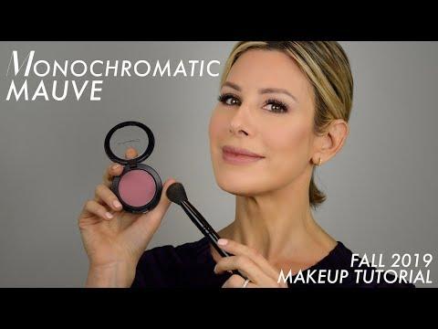 Monochromatic Mauve Fall 2019 Makeup Tutorial
