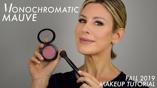 Monochromatic Mauve Fall 2019 Makeup Tutorial