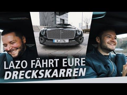 Der Bentley Continental GT | Lazo fährt eure Dreckskarren | inscopelifestyle