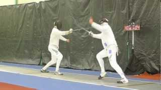New Zealand National Fencing Champs Mens Epee Final 2012 (kyle Macdonald Vs. Mark Rance)
