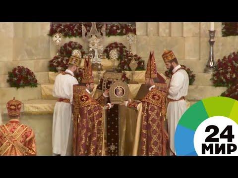 Литургия и богатый стол: в Армении Пасху отмечают по традициям - МИР 24