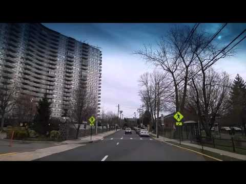 Driving by Fort Lee,New Jersey