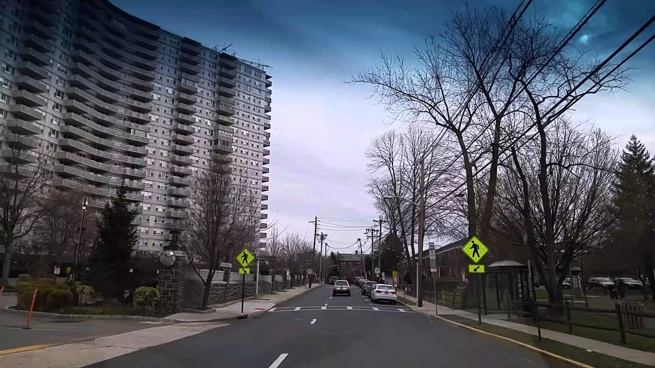 Driving by Fort Lee New Jersey
