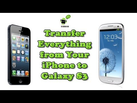how to transfer everything to new iphone how to transfer everything from an iphone to galaxy s3 20368
