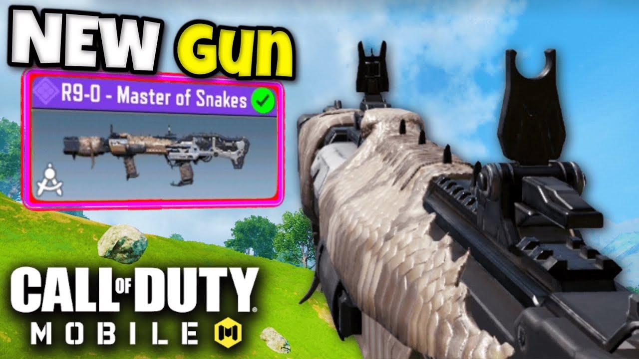 *NEW* R9-0 SHOTGUN in BATTLE ROYALE!!   COD MOBILE   SOLO VS SQUADS