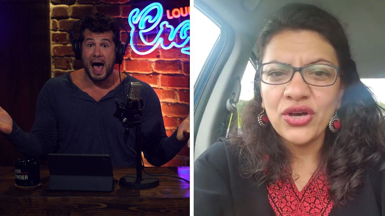 Steven Crowder PROOF: Rashida Tlaib ACTIVELY Supports Terrorism | Louder with Crowder