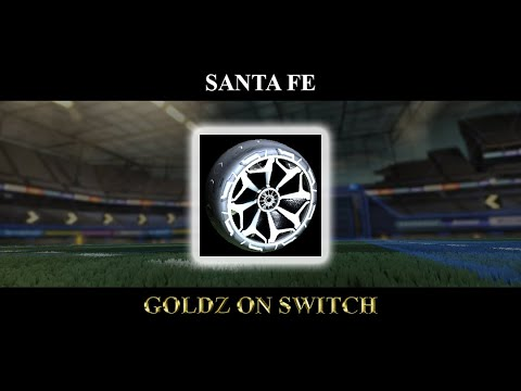 Rocket League Santa Fe Full Set Youtube