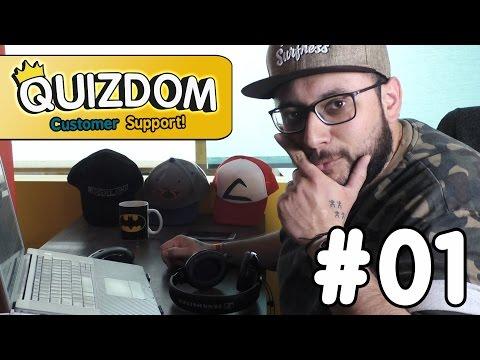 Quizdom - Customer Support #01