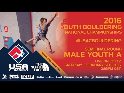 Male Youth A • Semifinals • Saturday February 6th 2016 • LIVE 2:33PM CST