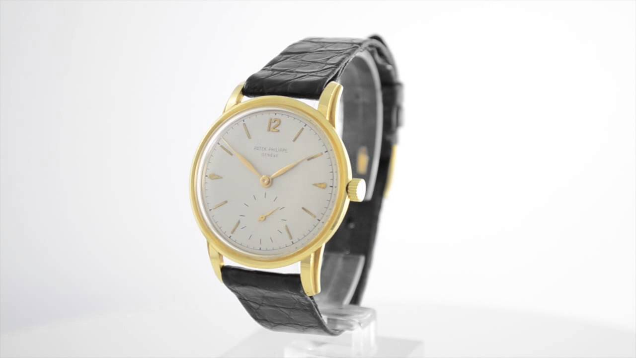 Patek philippe geneve reference 2452 youtube for Patek philippe geneve