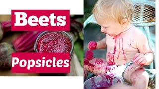 Boost your energy and your iron levels with these beetsicles!!