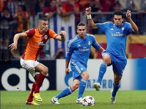Galatasaray 1 vs Real Madrid 6 Champions League 2013 grupo B 17/09/13 previa imagenes