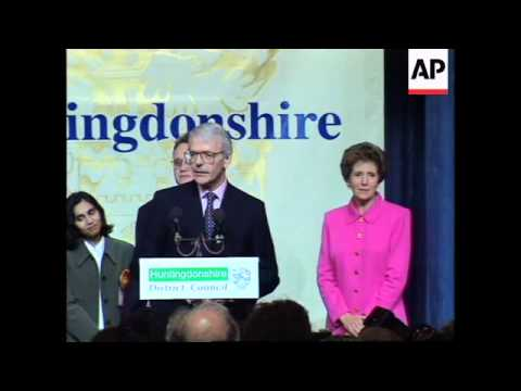 UK: HUNTINGDON: JOHN MAJOR CONCEDES DEFEAT IN GENERAL ELECTION