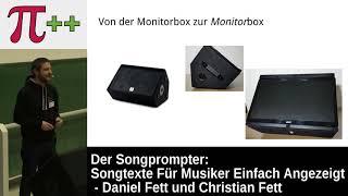 Der Songprompter - Songtexte für Musiker einfach angezeigt – Pi and More 10½
