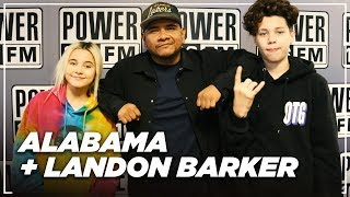 Alabama & Landon Barker Follow Travis Barker's Footsteps + Enter the Music Industry
