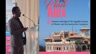 دكتور علاء يناقش عملية علاج سرعة القذف نهائياً بمؤتمر الجمعيه المصريه لجراحات التجميل  Plast-alex 40