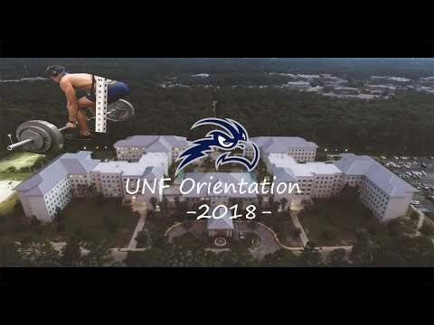 UNF Orientation Vlog - Max Deadlifts