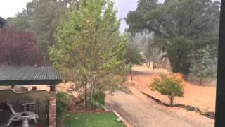 Calaveras County rainfall in Angels Camp
