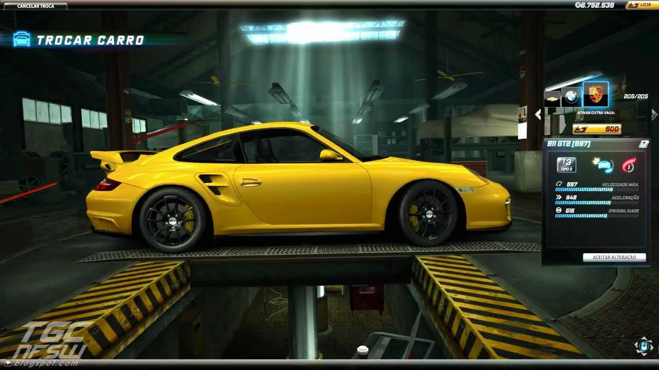 need for speed world porsche gt2 997 test drive youtube. Black Bedroom Furniture Sets. Home Design Ideas