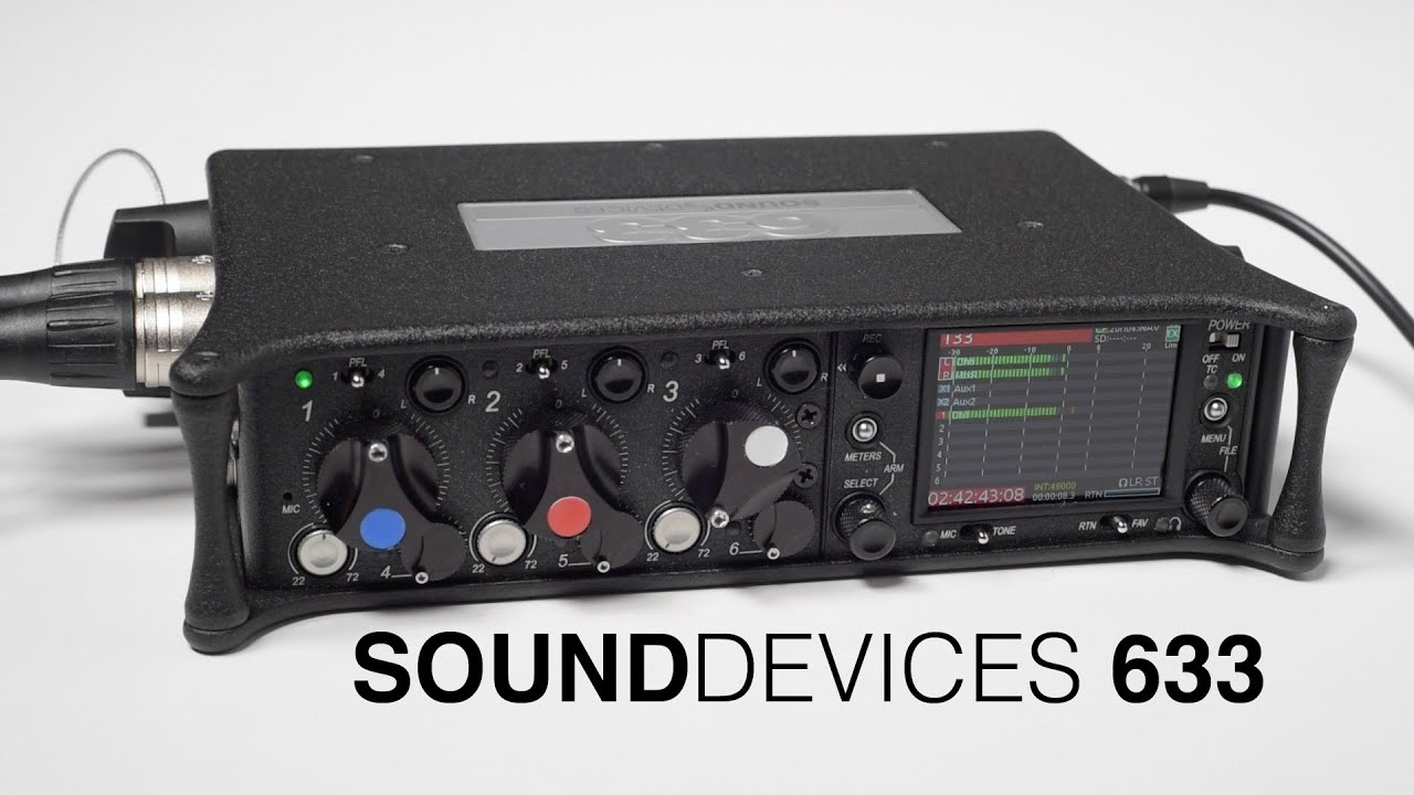 Sound Devices 633 Field Mixer Last