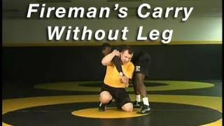 Wrestling Moves KOLAT.COM Fireman's Carry from 2 on 1 Without Leg