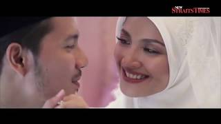Fazura, Fattah share videos of their akad nikah ceremony