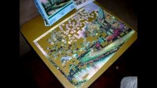 Lamplight Lane Puzzle (1000 Piece) Time-Lapse
