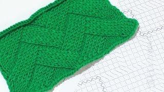 Плетенка. Подробный разбор плетеного узора