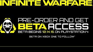 HOW TO GET INFINITE WARFARE BETA!! PRE-ORDER or PRE-PURCHASE (BO3 Gameplay)