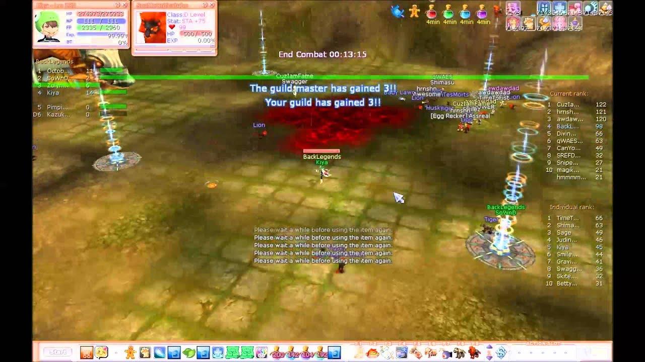 [Exult Flyff] - 14/09/2014 - Kiya [POV/MVP] - Farm Pooksie
