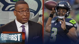 Russell Wilson agrees to record contract with Seattle, Cris Carter reacts | NFL | FIRST THINGS FIRST