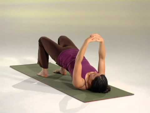 Viniyoga Therapy for the Upper Back practice clip