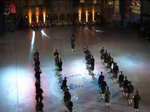 Musikschau der Nationen 2008 - Einmarsch der Pipe Bands