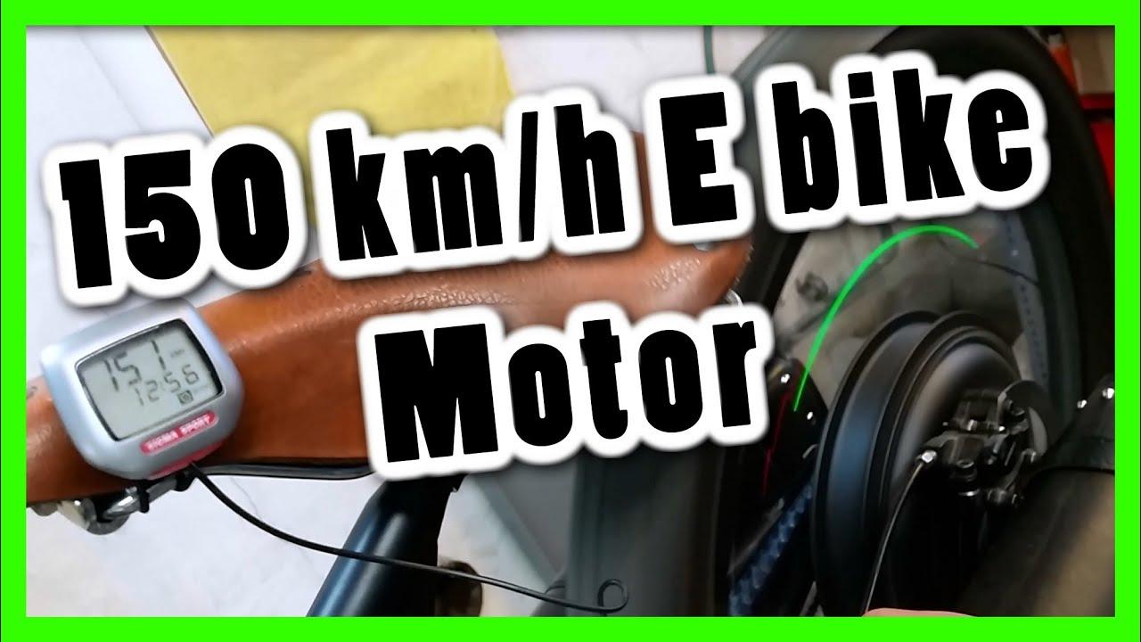 Schnellstes e bike der welt 150 km h e bike direct drive for H and h motors
