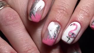 Дизайн Ногтей ФЛАМИНГО - Красивые Ногти by Alina Bykova