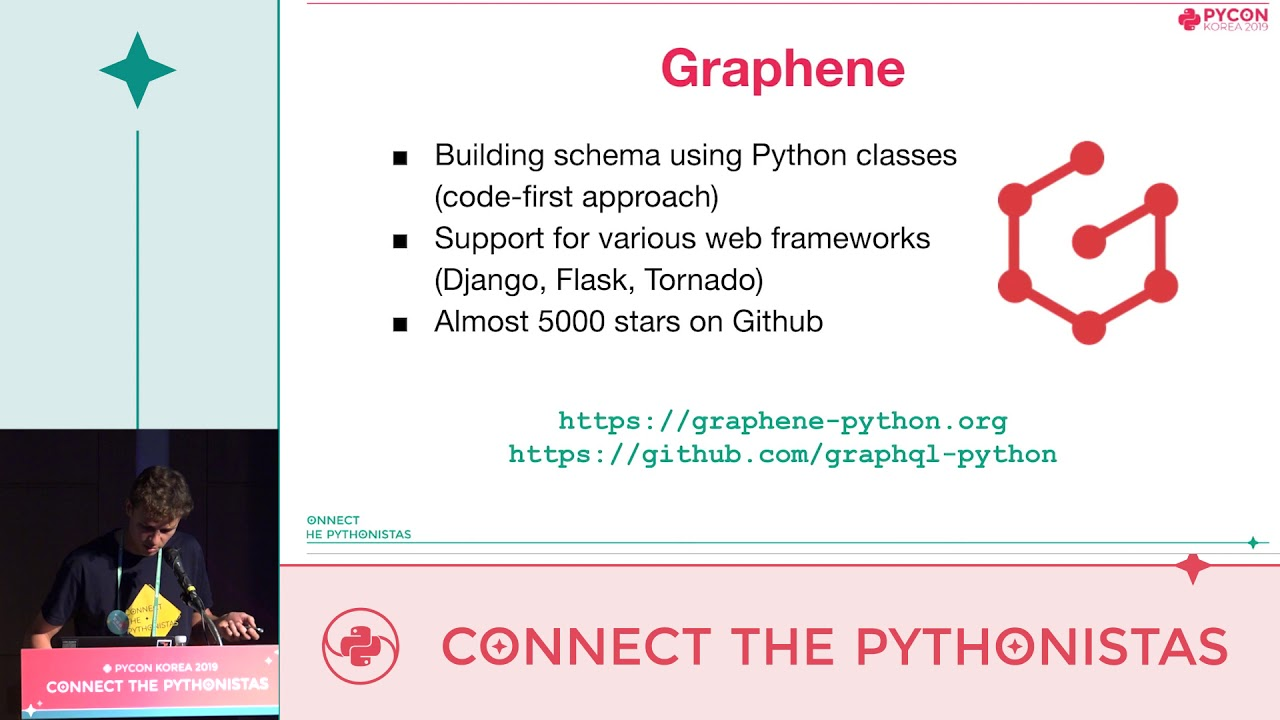Image from Real world Graphene: lessons learned from building a GraphQL API - Marcin Gębala - PyCon.KR 2019