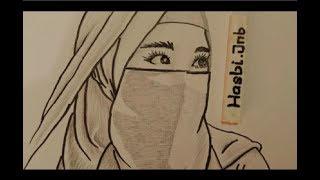 101+ Gambar Animasi Wanita Bercadar Kekinian