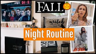 My Fall Night Time Routine (cozy) // 2018