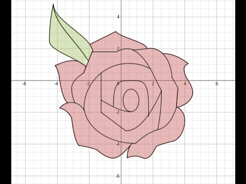 [Quick and Easy] Red Rose (Graph 4) - YouTube