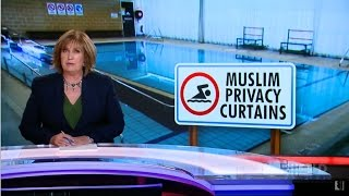 ACA. Muslim Privacy Curtains. (Pool Shielding For Muslims. Segregation)