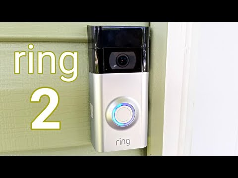 Ring 2 Video Doorbell - Unboxing & Installation - Amazing Home Gadget!