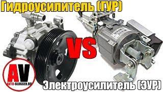 ГУР (гидроусилитель) или ЭУР (электроусилитель) руля. Что лучше выбрать? ПРОСТО О СЛОЖНОМ