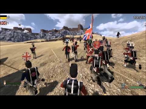 EPIC BRITISH CHARGE-Mount and Blade Napoleonic Wars