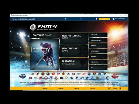 How To Install Mods In Franchise Hockey Manager