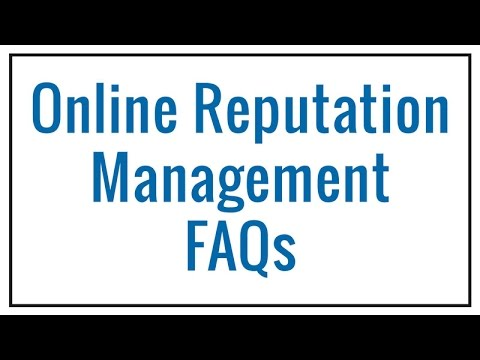 Online Reputation Management FAQ | Coalition Technologies