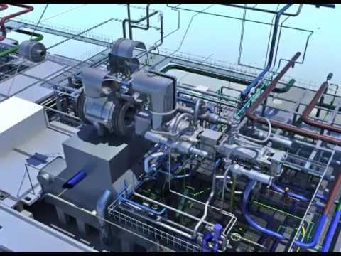 EÜAŞ Ambarli 816 MW CCPP repowering project (3D animation)