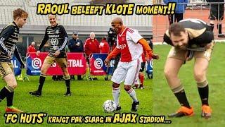 RAOUL BELEEFT KLOTE MOMENT! FC HUTS krijgt PAK SLAAG in AJAX stadion!