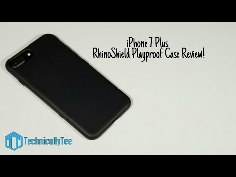 sports shoes 269cf 51340 iPhone 7 Plus RhinoShield Playproof Case Review!